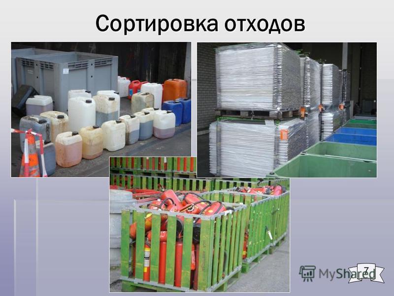 Сортировка отходов 7