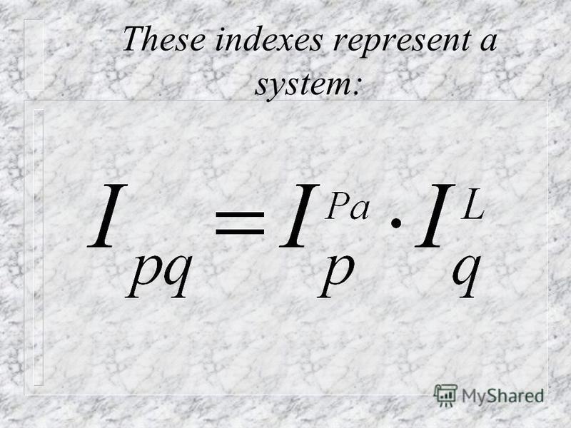 To get a uniform result Fisher's index is used which is calculated as simple geometric mean from indexes of Paashe and Laspeyres: