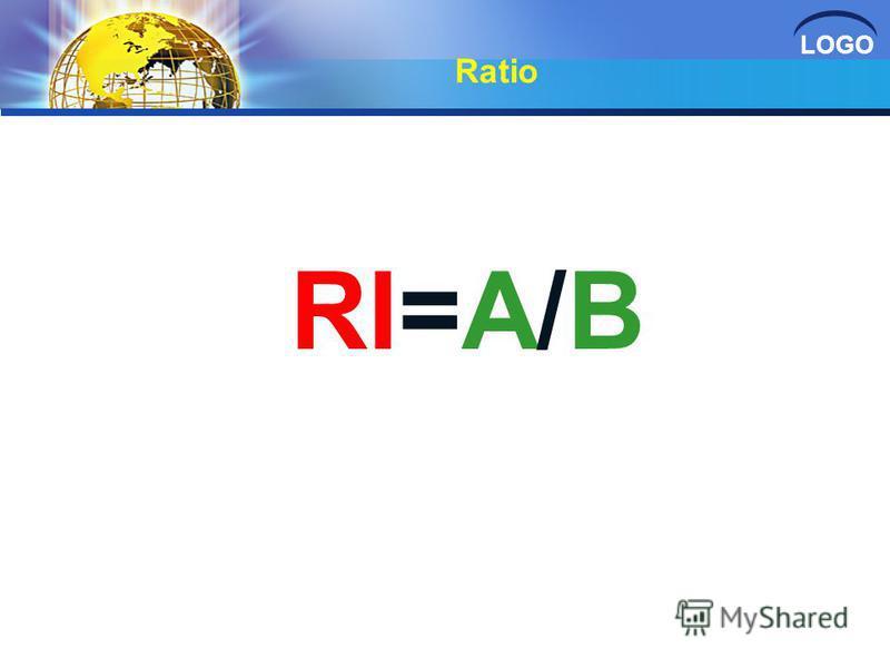 LOGO Ratio RI=A/B