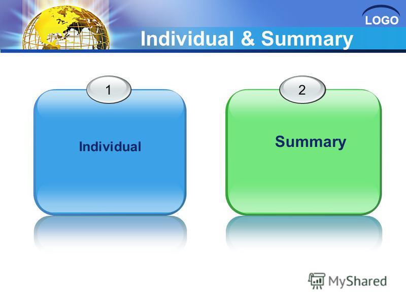 LOGO Individual & Summary 12 Summary Individual