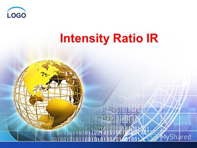 LOGO Intensity Ratio IR