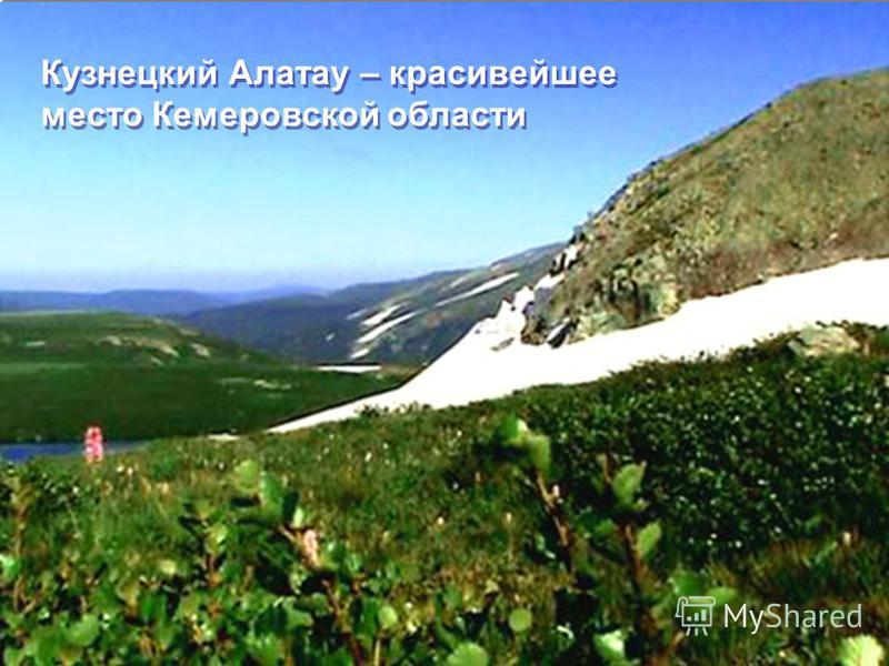 Кузнецкий Алатау – красивейшее место Кемеровской области