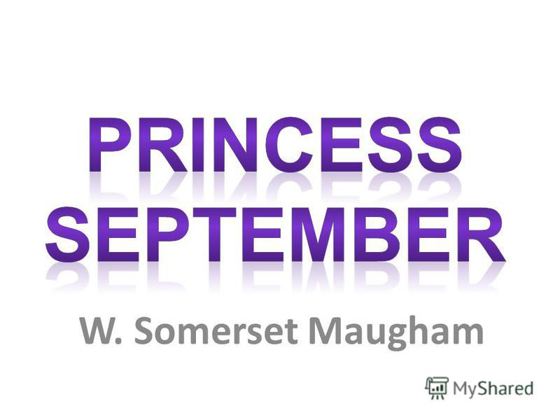 princess september maugham