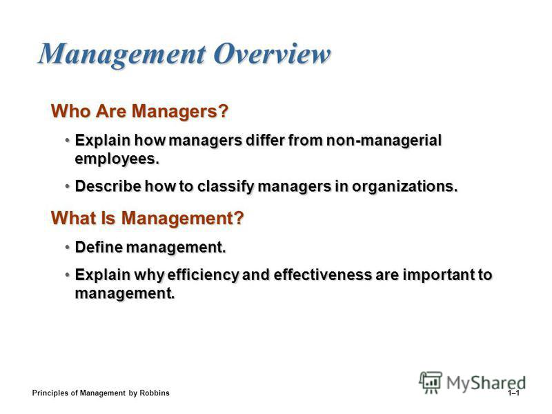 Define management