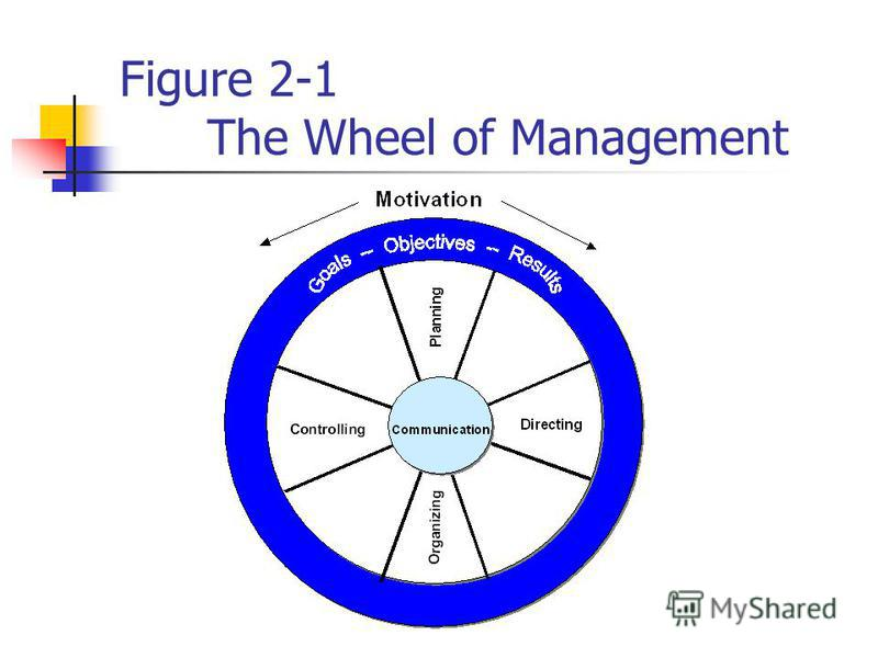 Figure 2-1 The Wheel of Management