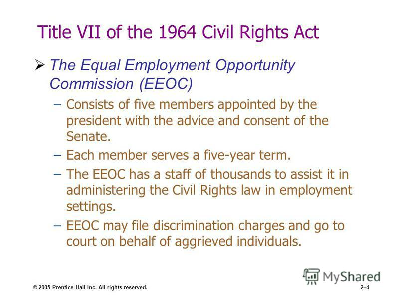 equal employment term paper Equal employment opportunity customer | july 5, 2016 prepare a 750- to 1050-word paper in which you discuss the elements of affirmative action as it applies to public sector and private sector employers and how it interacts with title vii requirements of equal employment opportunity.