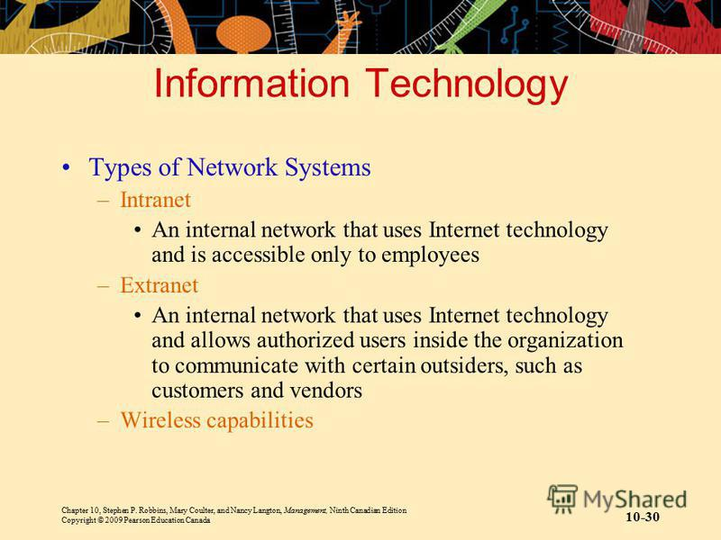 what type of information system is an intranet most easily adapted to It is the most widely used system in northern europe, and has revolutionized the way of managing sdss  company type privately held size 51-200 employees  they are easy to use, require.