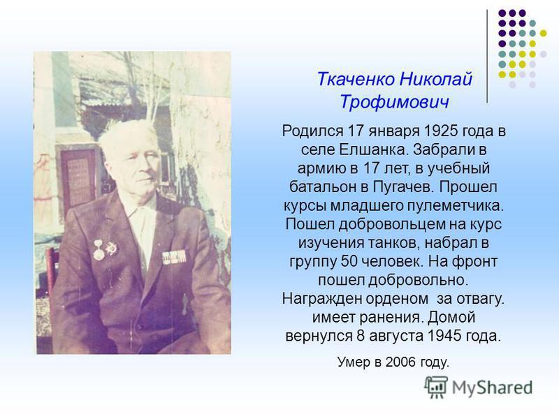Василий Федорович Басов родился 6 декабря 1926. В марте 1944 года, когда ему не было еще 18 лет его призвали в Саратовской зенитный элитный полк. Вскоре его и многих других новобранцев отправили в Харьков для формирования военных частей на фронт. Бас