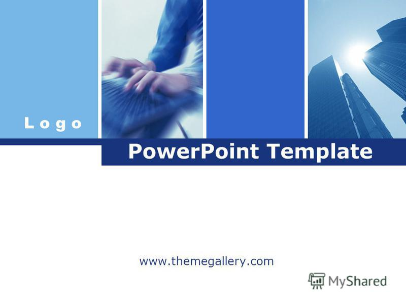 L o g o PowerPoint Template www.themegallery.com