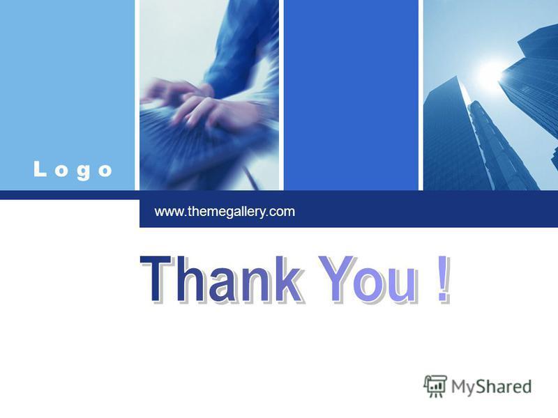 L o g o Click to edit company slogan. www.themegallery.com