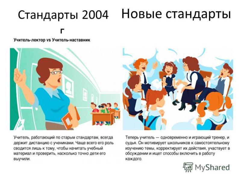 Стандарты 2004 г. Новые стандарты