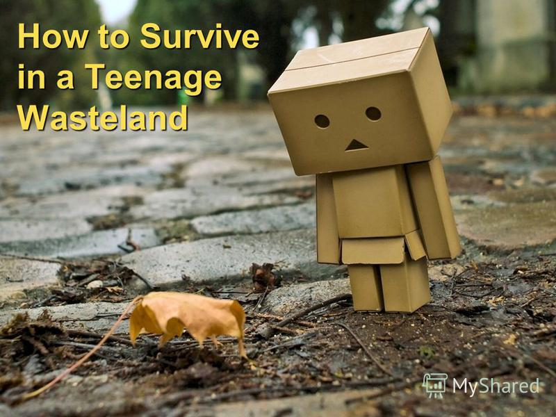 How to Survive in a Teenage Wasteland