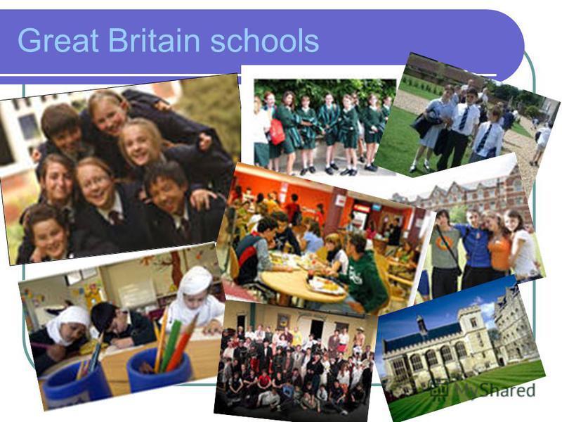 Great Britain schools