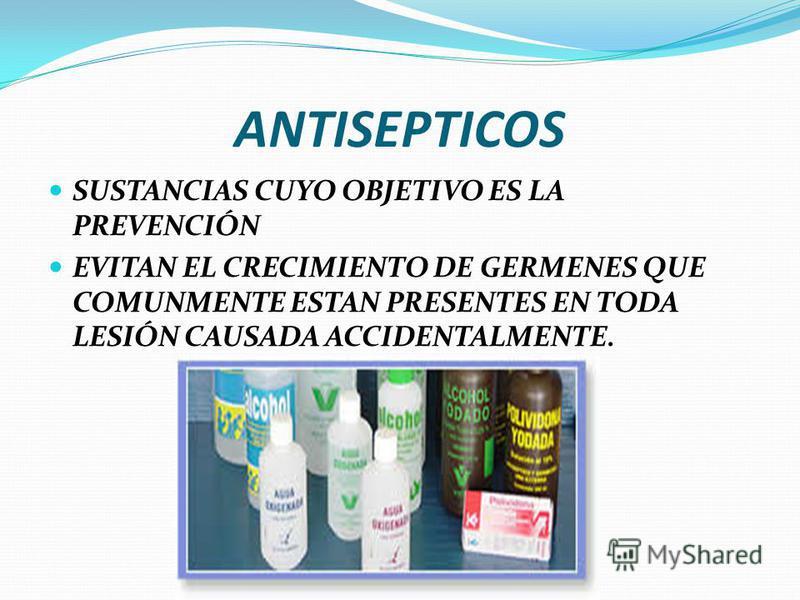 ELEMENTOS ESENCIALES SE CLASIFICAN EN: 1. ANTISEPTICOS 2. MATERIAL DE CURACION 3. INSTRUMENTAL Y OTROS 4. MEDICAMENTOS