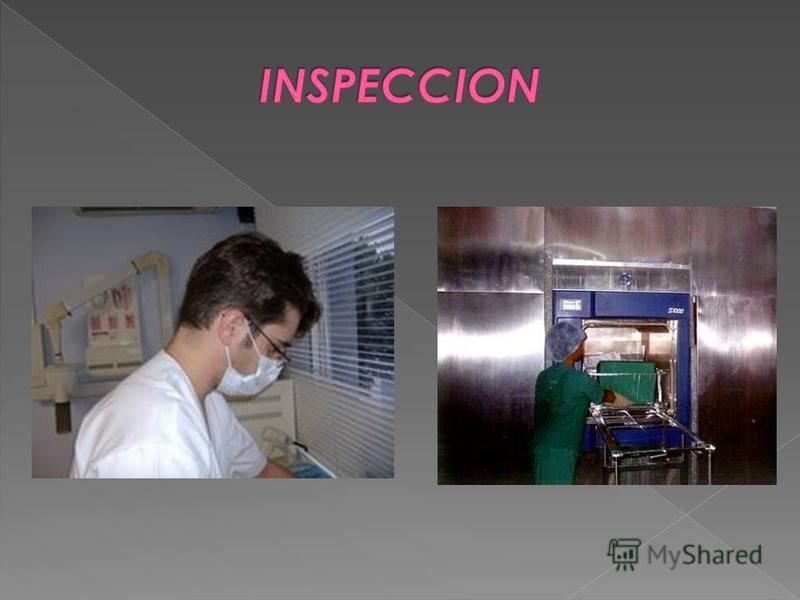 Corresponde a la evaluación visual de los artículos lavados en búsqueda de desperfectos o suciedad que pudieran interferir en los métodos de esterilización. realizada en forma minuciosa con apoyo de una lupa en cada uno de los artículos antes de proc