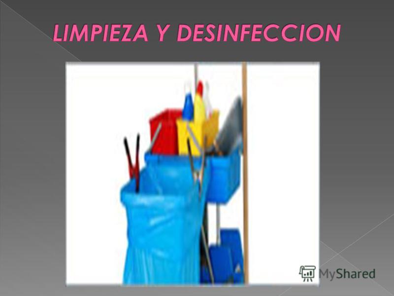 el instrumental y artículos de uso clínico y laboratorios del hospital debe: estar clasificado de acuerdo al riesgo de IIH, definiendo el nivel de eliminación de m.o que requiere: esterilización, desinfección de alto nivel, de bajo nivel o limpieza.