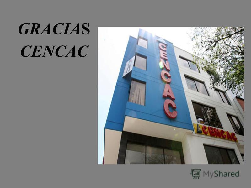 GRACIAS CENCAC
