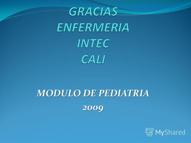 MODULO DE PEDIATRIA 2009