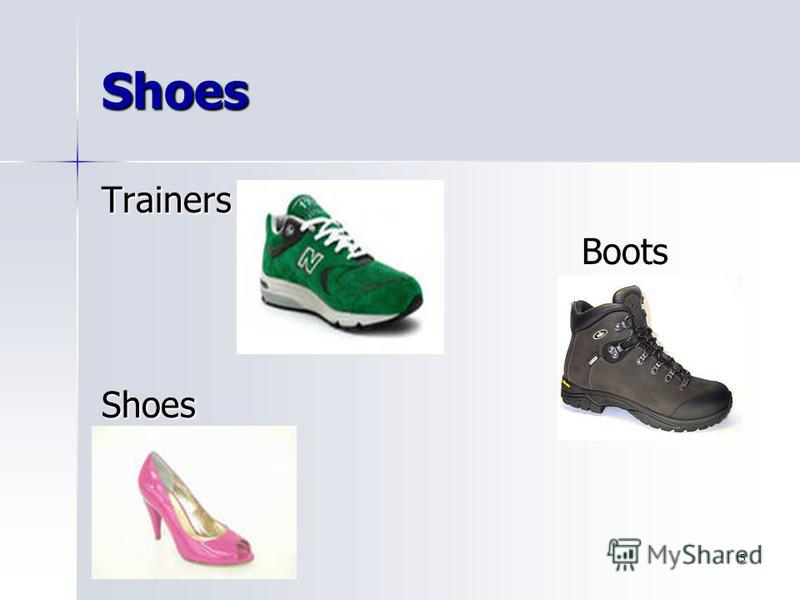 5 Shoes TrainersBootsShoes