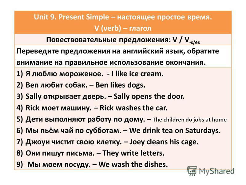 Неправильные английские глаголы, 3 формы с переводом