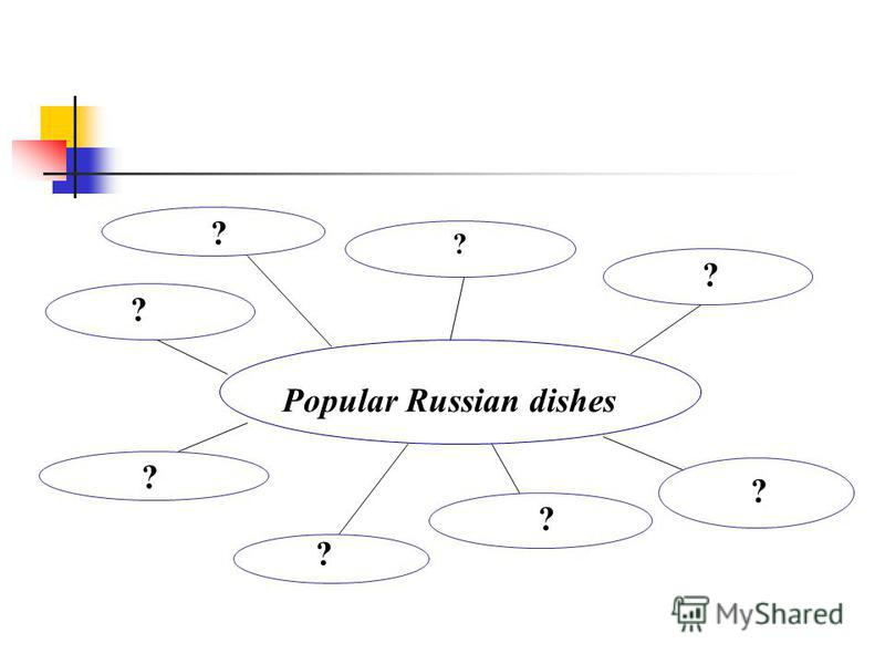 Popular Russian dishes ? ? ? ? ? ? ? ?