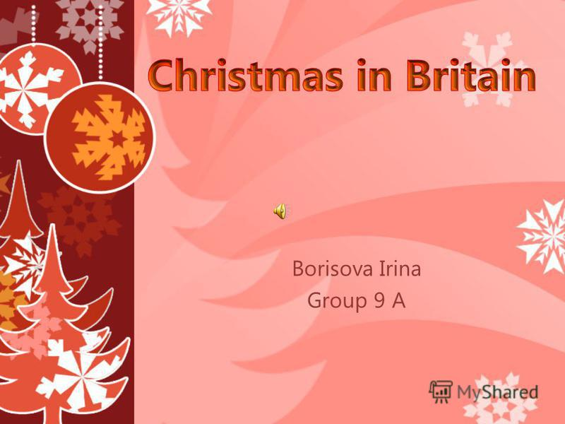 Borisova Irina Group 9 A