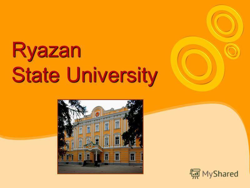 Ryazan State University