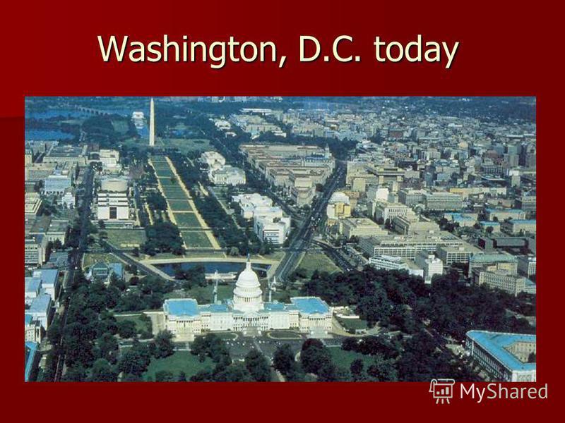 Washington, D.C. today