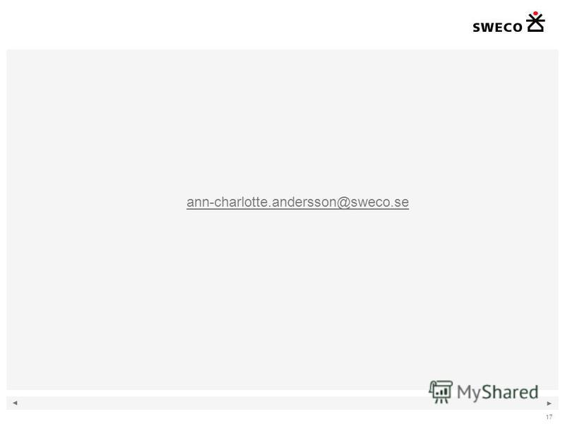17 ann-charlotte.andersson@sweco.se