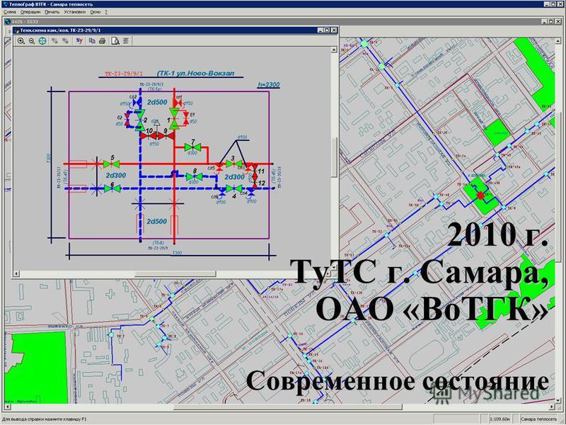 2010 г. ТуТС г. Самара, ОАО «ВоТГК» Современное состояние