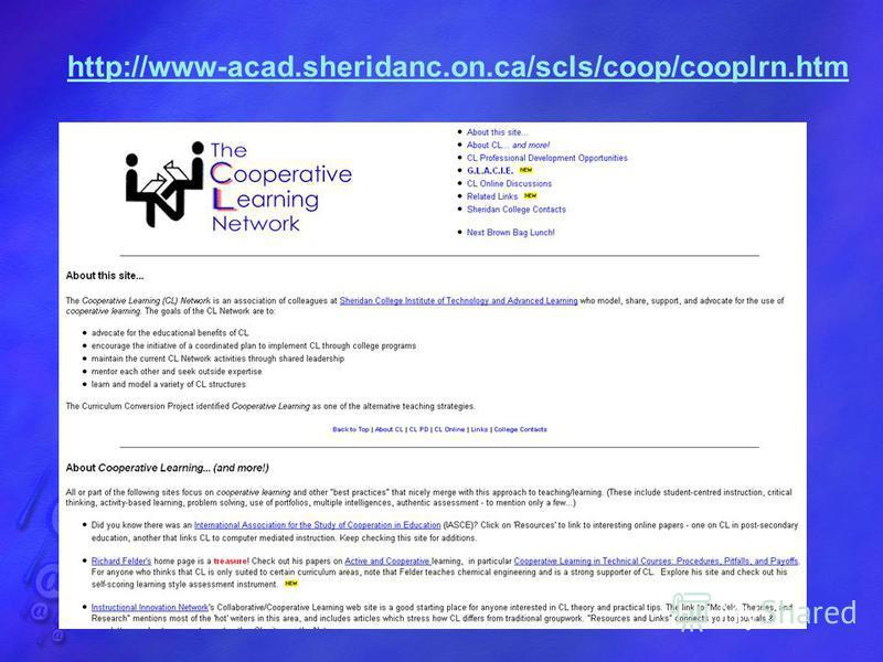 http://www-acad.sheridanc.on.ca/scls/coop/cooplrn.htm