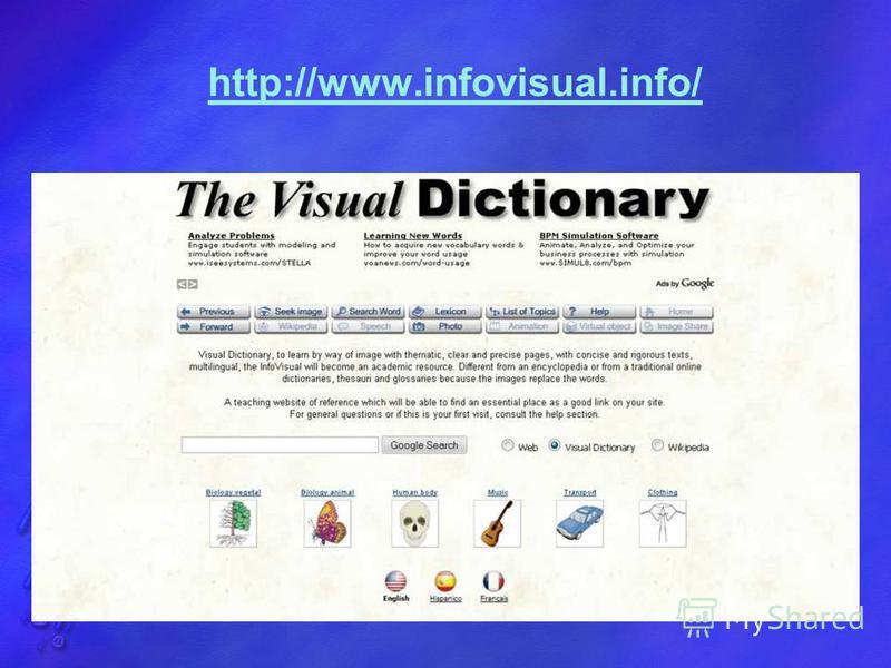 http://www.infovisual.info/