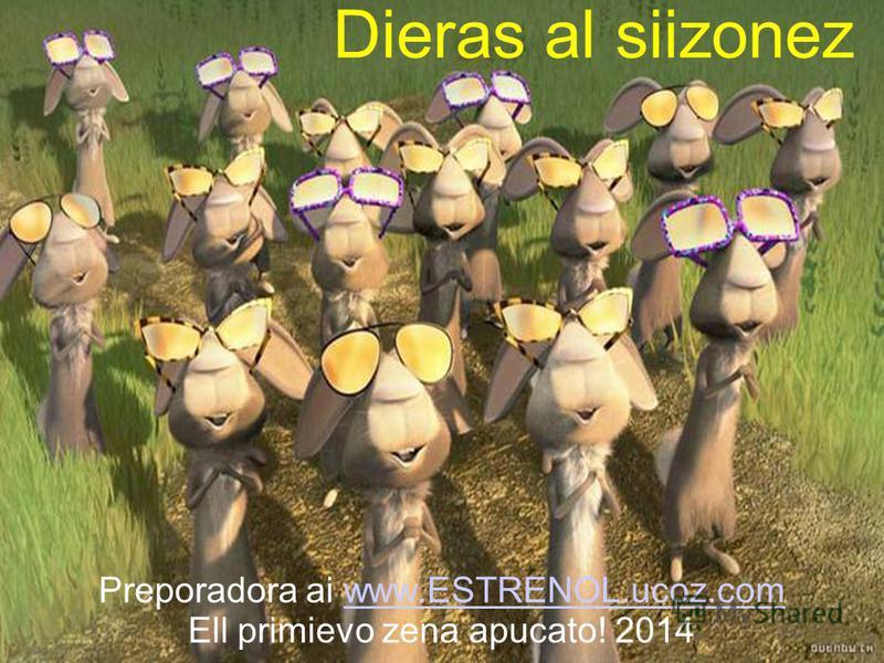 Dieras al siizonez Preporadora ai www.ESTRENOL.ucoz.comwww.ESTRENOL.ucoz.com Ell primievo zena apucato! 2014
