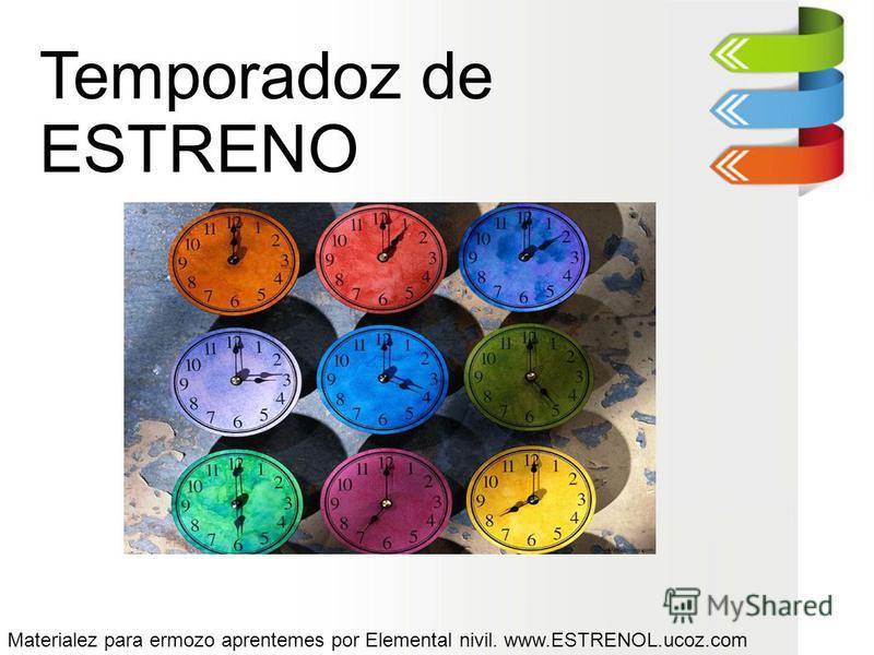 Temporadoz de ESTRENO Materialez para ermozo aprentemes por Elemental nivil. www.ESTRENOL.ucoz.com