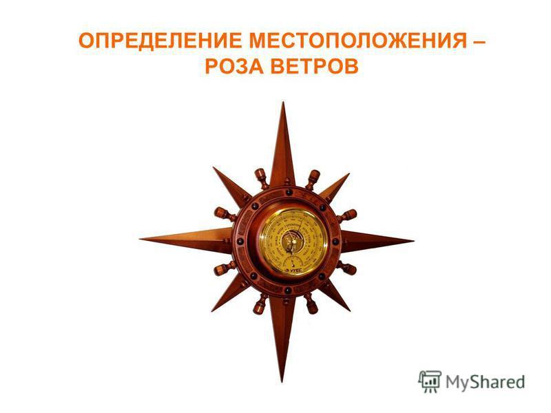 ОПРЕДЕЛЕНИЕ МЕСТОПОЛОЖЕНИЯ – РОЗА ВЕТРОВ