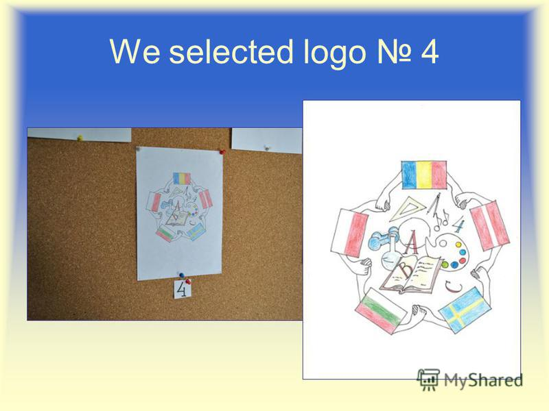 We selected logo 4