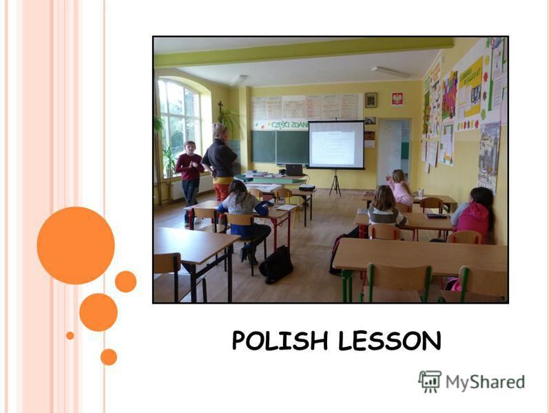 POLISH LESSON