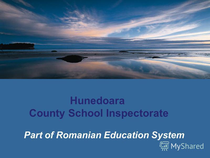 Hunedoara County School Inspectorate Part of Romanian Education System