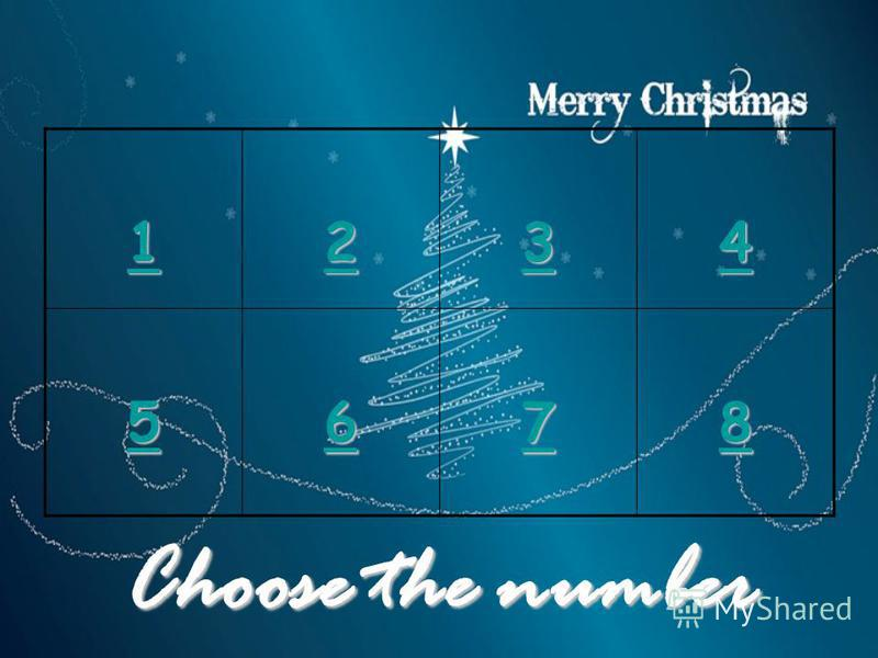 Choose the number 1111 2222 3333 4444 5555 6666 7777 8888