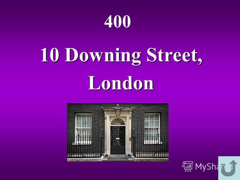 10 Downing Street, London 400