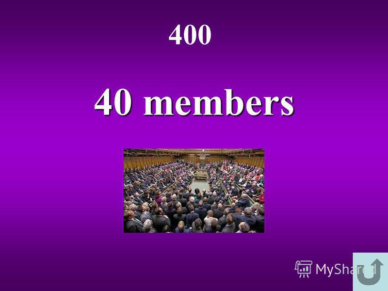 40 members 400