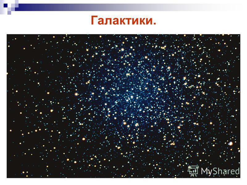 Галактики.