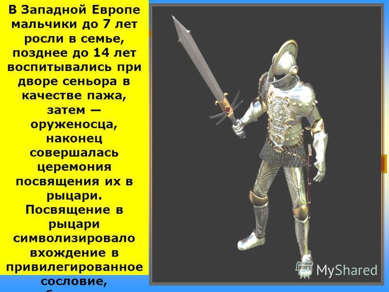 Рыцарь имел 2–3 коня: обычного и боевого, в доспехах. Такого коня можно было поразить только в брюхо. Голову лошади закрывали металлическим или кожаным наголовником, грудь – железными бляхами, бока – кожей. Кроме того, коня накрывали попоной или чепр