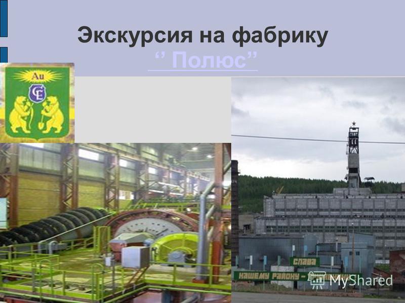 Экскурсия на фабрику Полюс Полюс