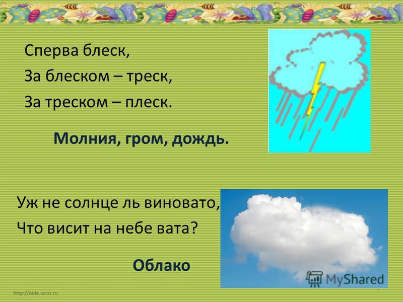 Ветер Явления природы Без рук, без ног, По полю рыщет, Поёт да свищет, деревья ломает, К земле траву приклоняет. 2