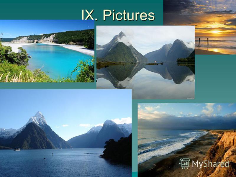 IX. Pictures