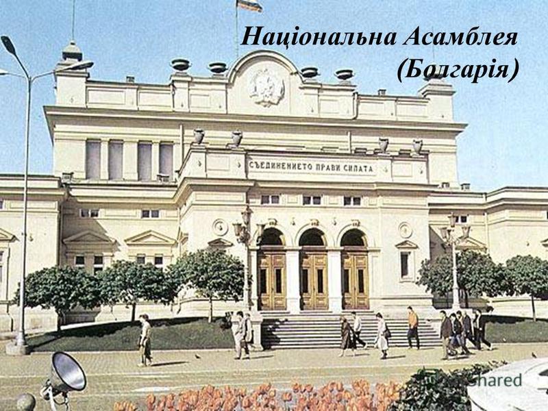 Національна Асамблея ( Болгарія )