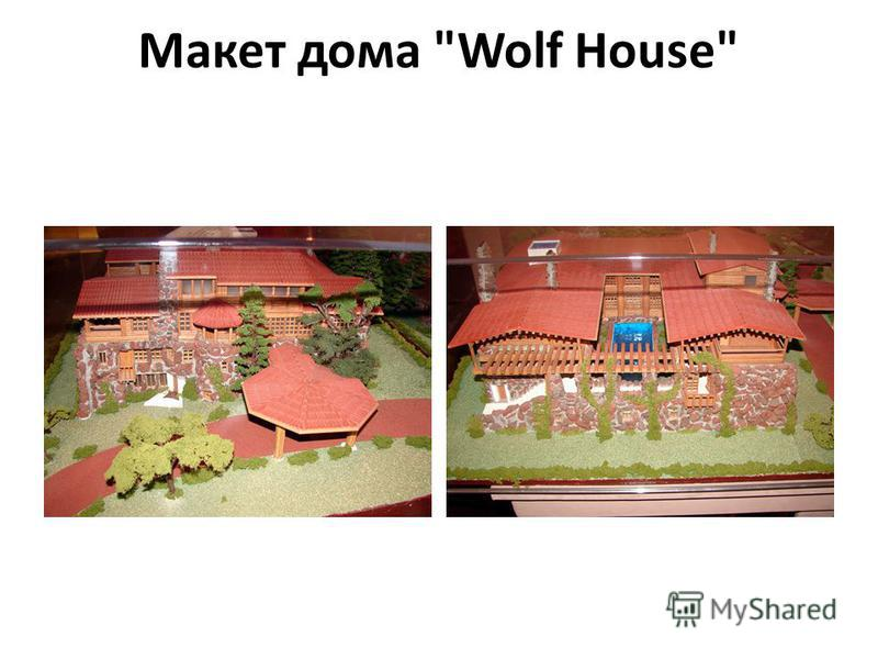 Макет дома Wolf House