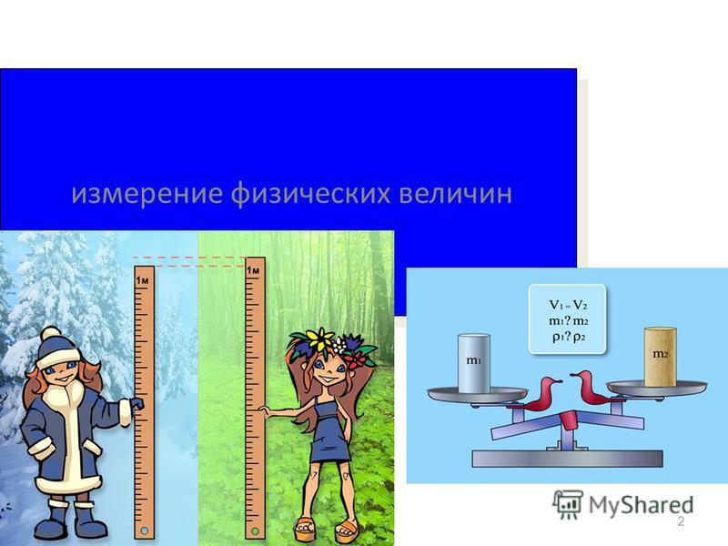 2 измерение физических величин