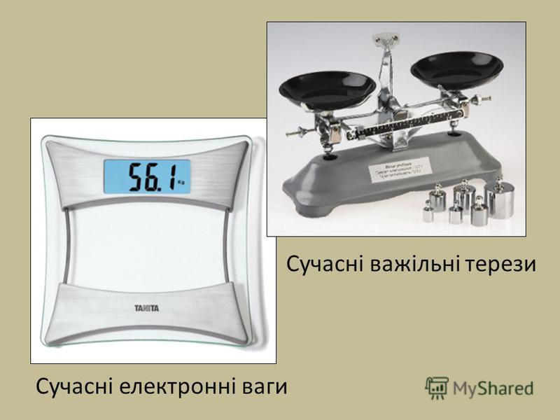 Сучасні важільні терези Сучасні електронні ваги